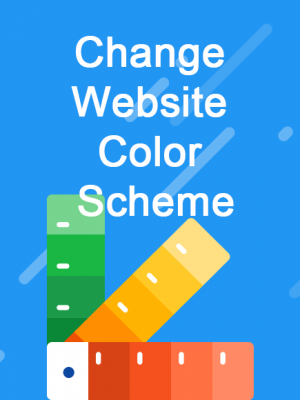 jincart change-website-color-scheme