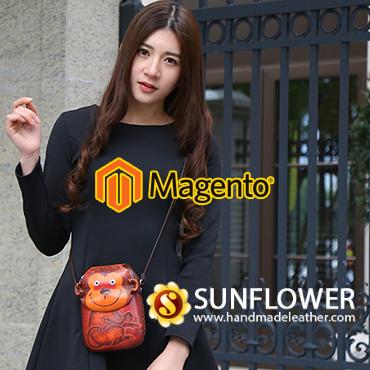 jincart website design handmadeleather magento