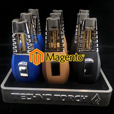 jincart website design technotouch lighters magento