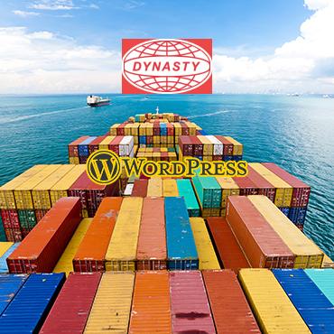 jincart website design dynasty freight forwarder sfo