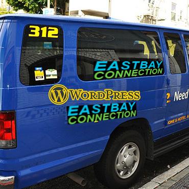 jincart website design east bay connection airport shuttle service