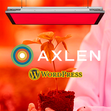 jincart website design Axlen lighting