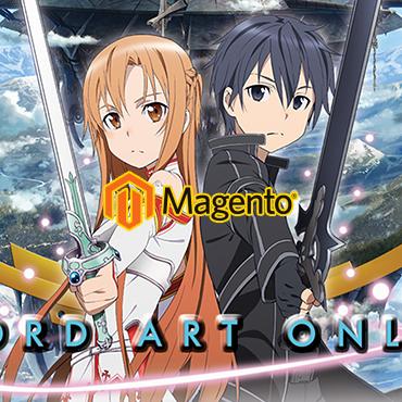 jincart website design otaku japanese manga cartoon magento