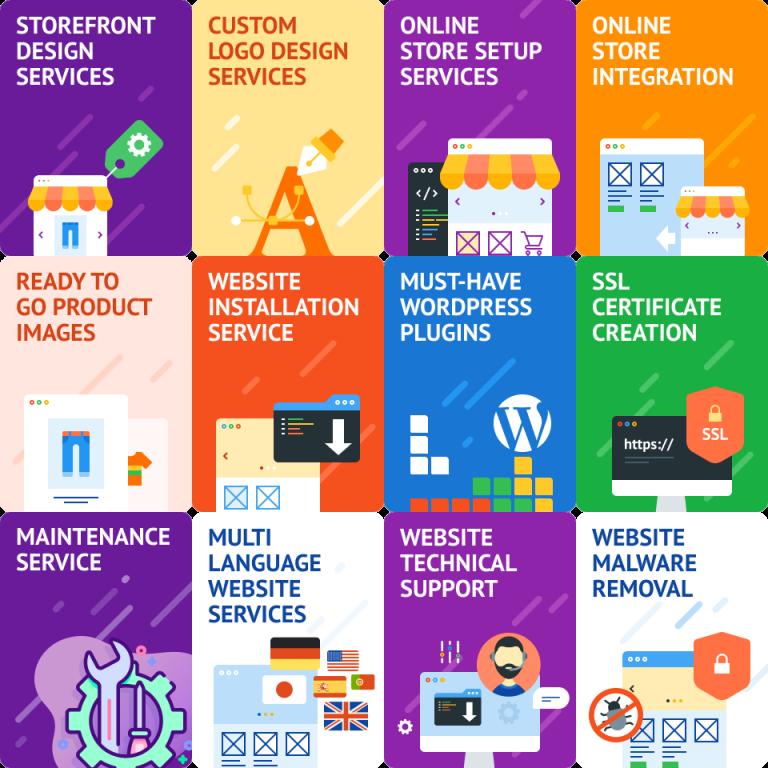 jincart online store setup