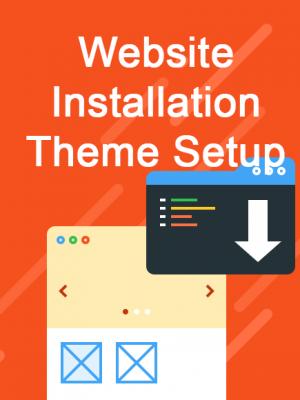 jincart website-installation-service-theme-setup